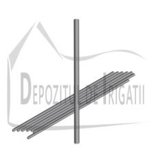 Tija suport aspersor fier, D = 8mm, L = 120cm - TR;