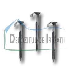 Carlig ancorare tub de picurare, D = 16 - 20 mm, L= 14.5 cm - PLP;