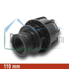 """Adaptor compresiune FI 110 x 4"""" - NTR;"""