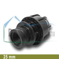 """Adaptor compresiune FI 25 x 3/4"""" - NTR;"""