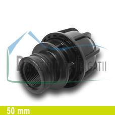 """Adaptor compresiune FI 50 x 1 1/4"""" - NTR;"""