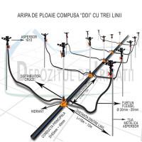 ARIPA DE PLOAIE COMPUSA 110 x 90 mm - 198 - 12 x 12_3;
