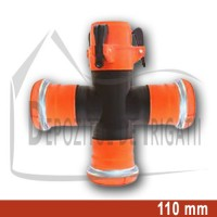 Cruce egala aripa de ploaie, D = 110mm;