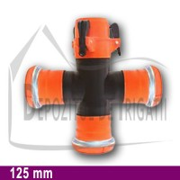 Cruce egala aripa de ploaie, D = 125mm;