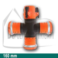 Cruce egala aripa de ploaie, D = 160mm;