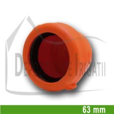 Dop aripa de ploaie, D = 63mm mama (fara clesti);