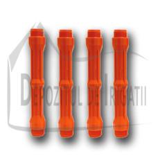 """Prelungitor aspersor PP 1"""", L = 25cm, Fe x Fe, orange - TR;"""