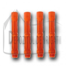 """Prelungitor aspersor PP 1"""", L = 25cm, Fe x Fi, orange - TR;"""
