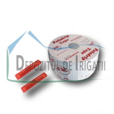 Banda de picurare Paladrip Tape DD, Q = 3.6 l/h, 6 mil., 30 cm, 200 m/rola;