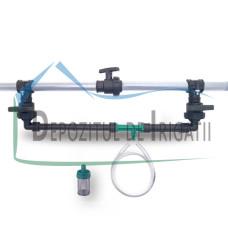 "Cap de control PEID 32 mm cu injector Venturi 3/4"" - plastic - PLP;"