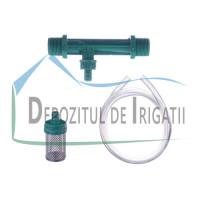 "Injector Venturi 1"" plastic (contine injector, furtun si sorb) - PLP;"