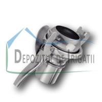 "Cupla Bauer Tata cu stut furtun si levier de inchidere, D = 100 mm - 4"", tip S77 - NFX;"