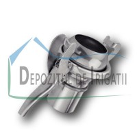 "Cupla Bauer Tata cu stut furtun si levier de inchidere, D = 160 mm - 6"", tip S77 - NFX;"