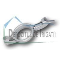 """Levier de inchidere cupla Bauer, D = 125 mm - 5"""" - NFX;"""