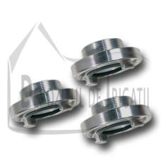 "Cupla fixa cu filet exterior (cupla pompieri STORZ) - tip B, 3"" - 90mm -NFX;"