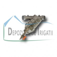 "Filtru plastic 2"", 120 mesh - sita, debit filtrat 16 mc/h + minivana - PLP;"
