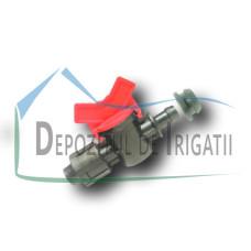 Robinet banda picurare, D = 17 mm (cu garnitura Grommet) - PLP;