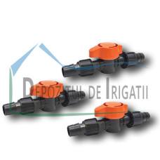 Robinet conector banda de picurare 17 x 17mm - NEW;