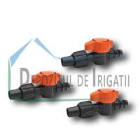 Robinet conector banda - tub picurare 16 x 17mm - NEW;