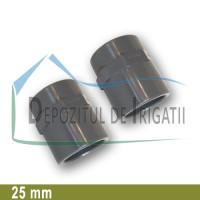 """Adaptor PVC 25 x 3/4"""" (lipire/Fi) - PLP;"""