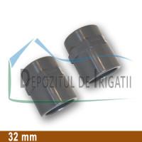 """Adaptor PVC 32 x 1"""" (lipire/Fi) - PLP;"""