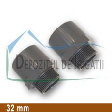 "Adaptor PVC 32 x 40 x 1"" (lipire/Fe) - PLP;"