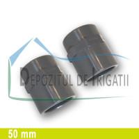 """Adaptor PVC 50 x 1 1/2"""" (lipire/Fi)- PLP;"""