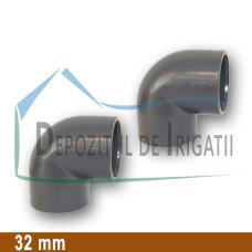 Cot PVC 32 x 32 mm (lipire) - PLP;