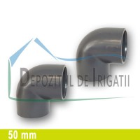 Cot PVC 50 x 50 mm (lipire) - PLP;