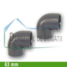 Cot PVC 63 x 63 mm (lipire) - PLP;