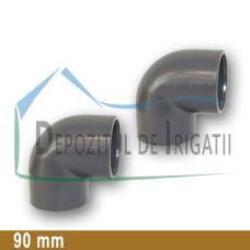 Cot PVC 90 x 90 mm (lipire) - PLP;
