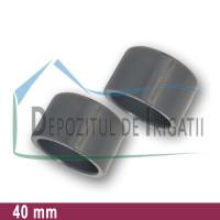 Dop PVC 40 mm (lipire) - PLP;