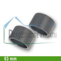 Dop PVC 63 mm (lipire) - PLP;