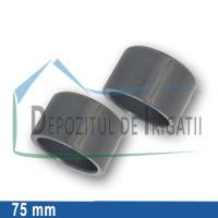 Dop PVC 75 mm (lipire) - PLP;