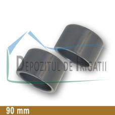 Dop PVC 90 mm (lipire) - PLP;