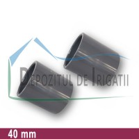 Mufa PVC 40 mm (lipire) - PLP;