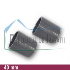 Mufa PVC 40 mm (lipire) - PLP;