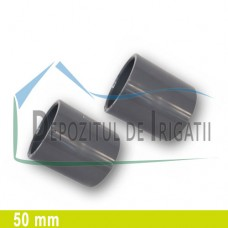 Mufa PVC 50 mm (lipire) - PLP;
