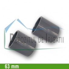 Mufa PVC 63 mm (lipire) - PLP;