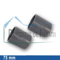 Mufa PVC 75 mm (lipire) - PLP;