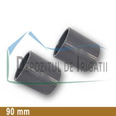 Mufa PVC 90 mm (lipire) - PLP;
