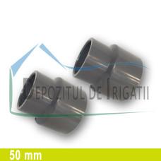 Reductie PVC 50 x 40 mm (lipire) - PLP;