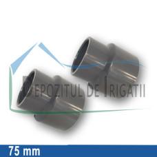 Reductie PVC 75 x 63 mm (lipire) - PLP;