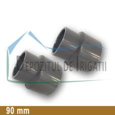 Reductie PVC 90 x 63 mm (lipire) - PLP;