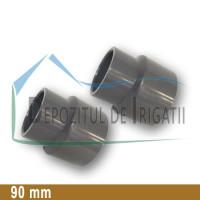 Reductie PVC 90 x 75 mm (lipire) - PLP;
