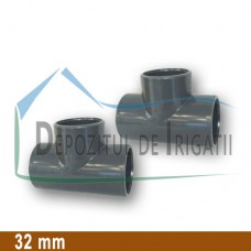Teu egal PVC 32 x 32 x 32 mm (lipire) - PLP;