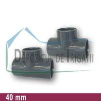 Teu egal PVC 40 x 40 x 40 mm (lipire) - PLP;