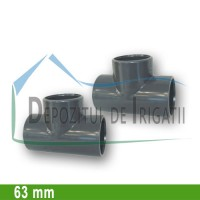 Teu egal PVC 63 x 63 x 63 mm (lipire) - PLP;
