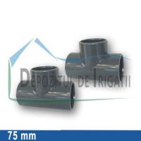 Teu egal PVC 75 x 75 x 75 mm (lipire) - PLP;