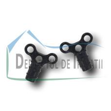 Dop tub de picurare cu inele 16mm;